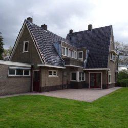 Verbouwing huis bouwbedrijf
