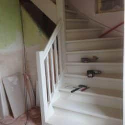 Verven trap Midden Drenthe
